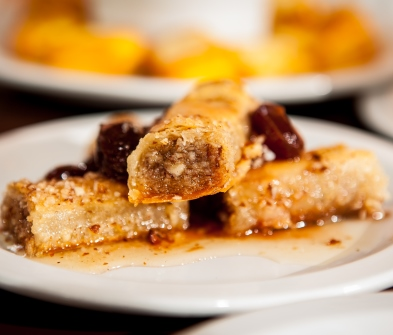 Baclava with Grapes