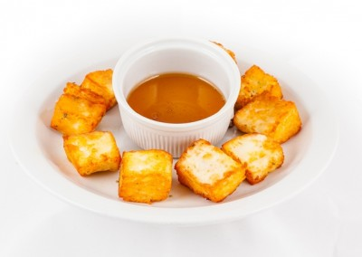 Fried Haloumi & Honey