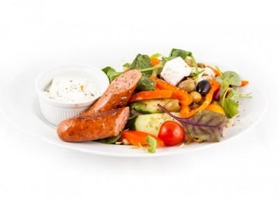 Greek Sausage Meal