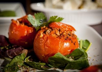 Veg Stuffed Tomatoes
