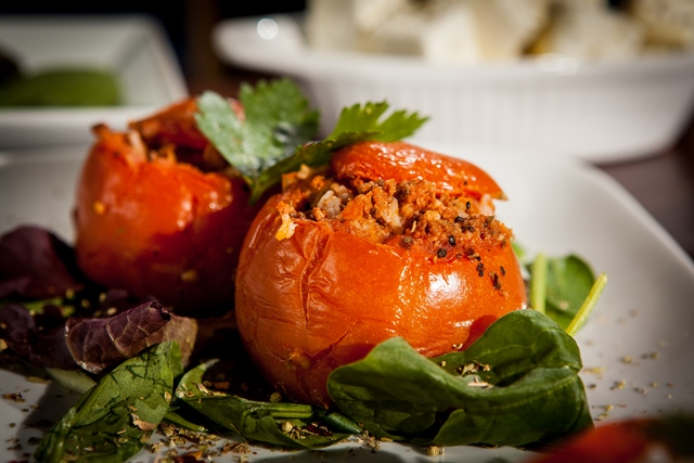 Veg Stuffed Tomatoes