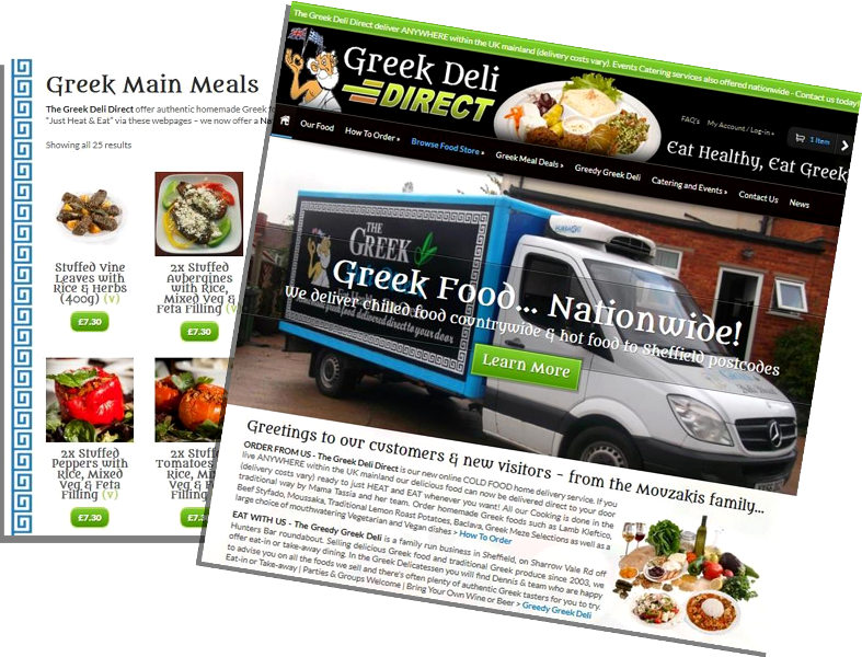 Greedy Greek Deli DIRECT Website