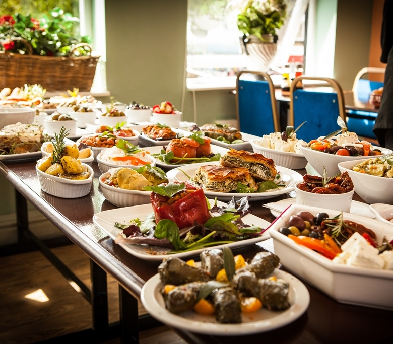 An example meze selection