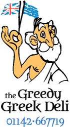 The Greedy Greek Deli Sheffield | Tel: 01142 667719