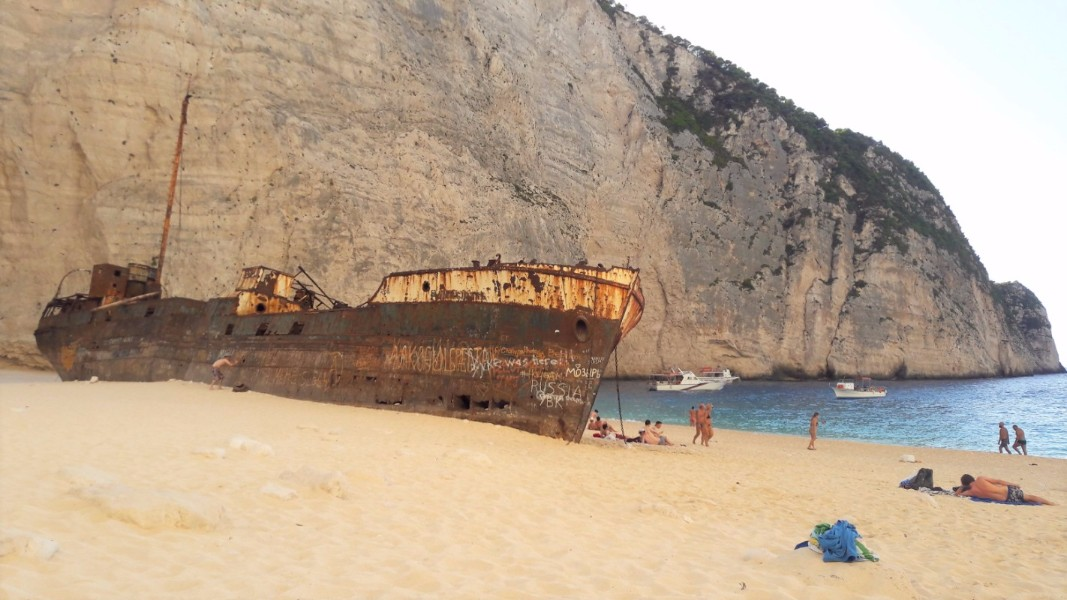 Explore Zante beaches - Navagio Beach (Shipwreck Cove)