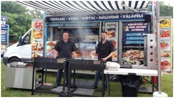 The Greedy Greek Deli, Sheffield - mobile catering vans suitable for all occasions