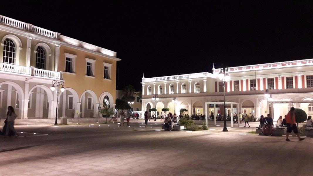 Explore the local area - Solomos Square, Zante town