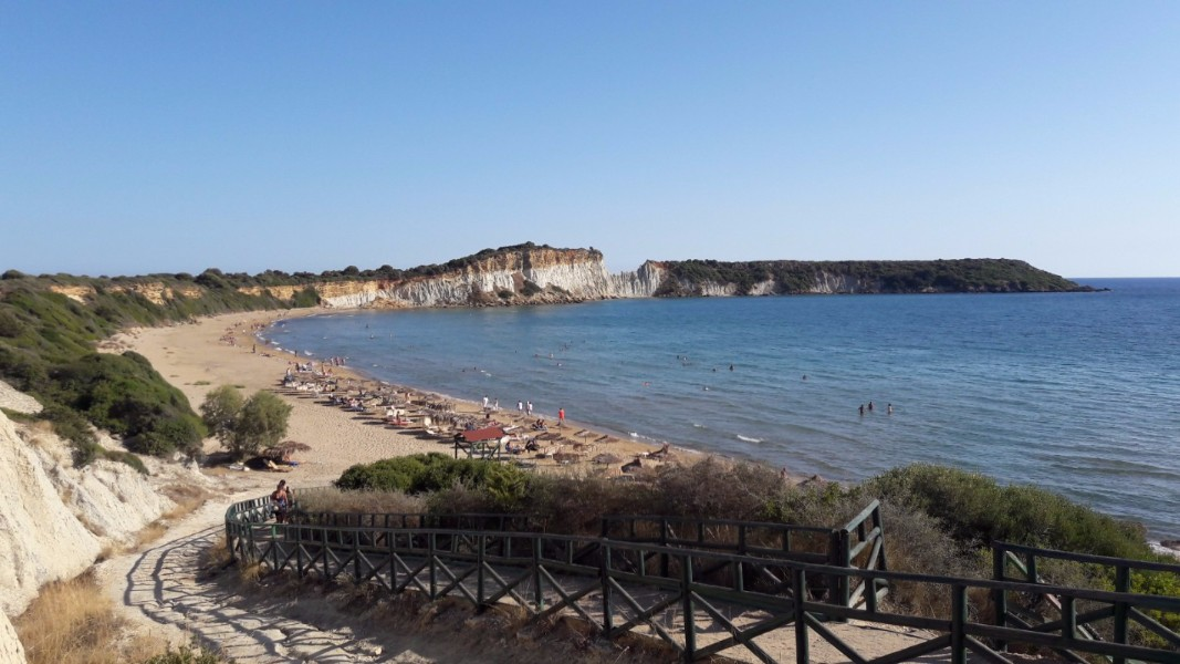 Explore Zante beaches - Gerakas Beach