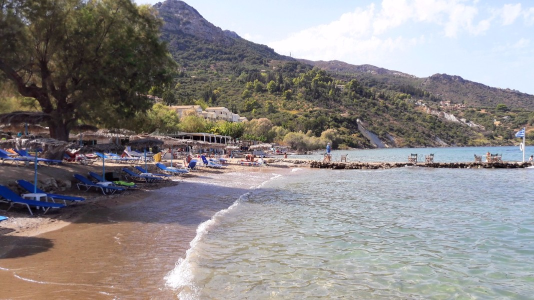 Explore Zante beaches - Kaminia Beach