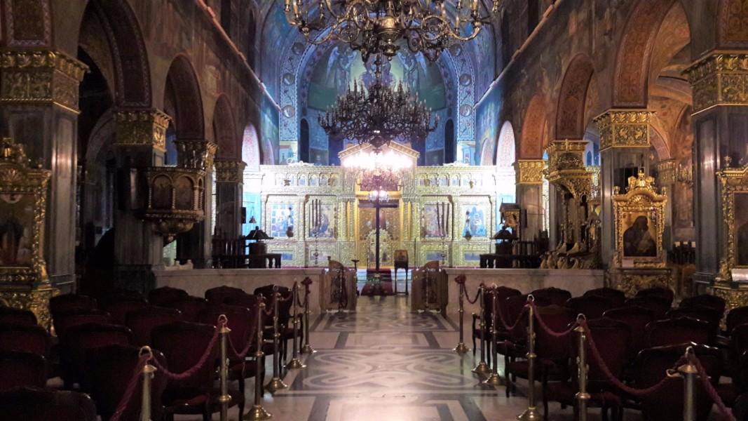 Explore the local area - Agios Dionysios church, Zante