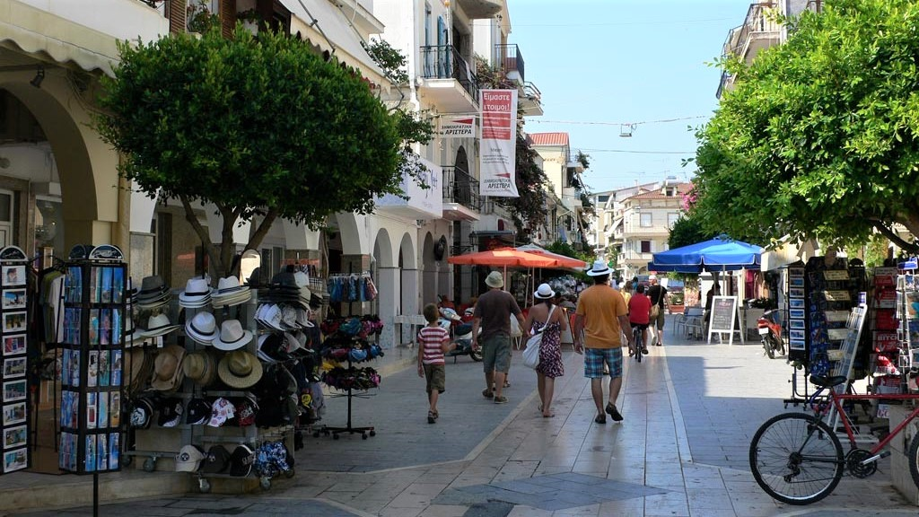 Explore the local area - Zante town shopping