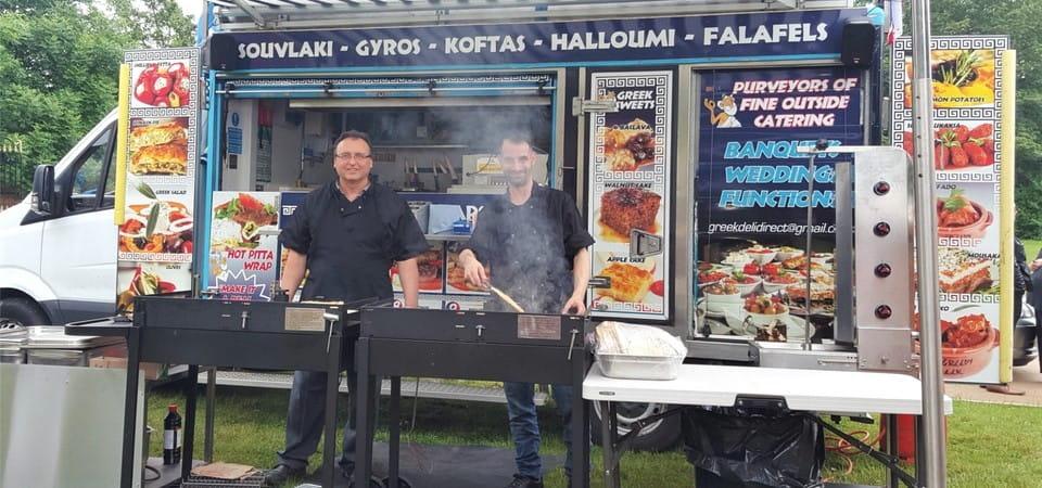The Greedy Greek Deli - Mobile Catering